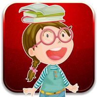 Kids funny with preschool learning cards game
