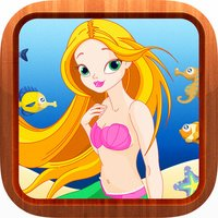 Mermaid Princess Jigsaw Puzzles Games for Toddlers