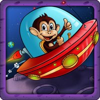 Gravity Star Monkey :  Moon Surfers - Little Space Pet Adventure (Free Game)
