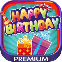 Create cards and postcards to wish happy birthday - Premium