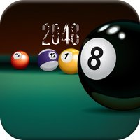 2048 Pool Ball Edition - Match the same balls to win