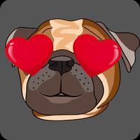 BulldogMoji - Bulldog Stickers