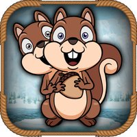 Tether Squirrel FREE: Grip Snowflake to Climbing Acorn Tree - Adventure & Fun Game