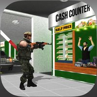Super-Market Car Driver 3D: Police Shooting Gangster in Mad Crime City