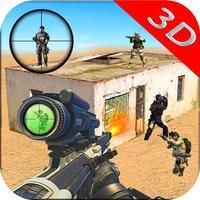 Elite Sniper HeadShot - Combat Commando Street War