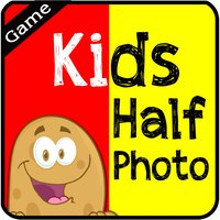 Kids Half Photo - The Animals Learning for Fun