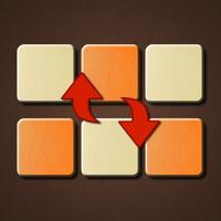 Swap the color cells. Puzzle