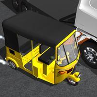 Tuk Tuk Auto Rickshaw 3D
