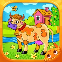 Farm Animals - Living Coloring