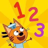 Три кота Цифры. Котики вперед!