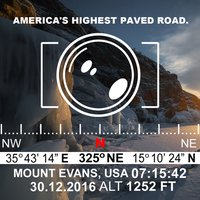 GPS Stamp Video Camera