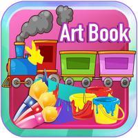 Art Book Trains and Thomas Edition