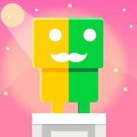 mustache hero - Colorful game