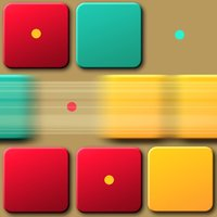 Quadrex - The puzzle game about scrolling tile blocks to form a pattern picture.