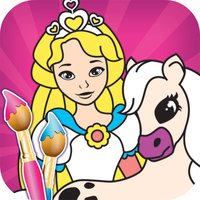 Princess Color Book - Painting Pic