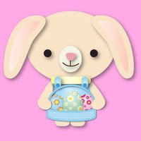 Easter Bunny Stickies