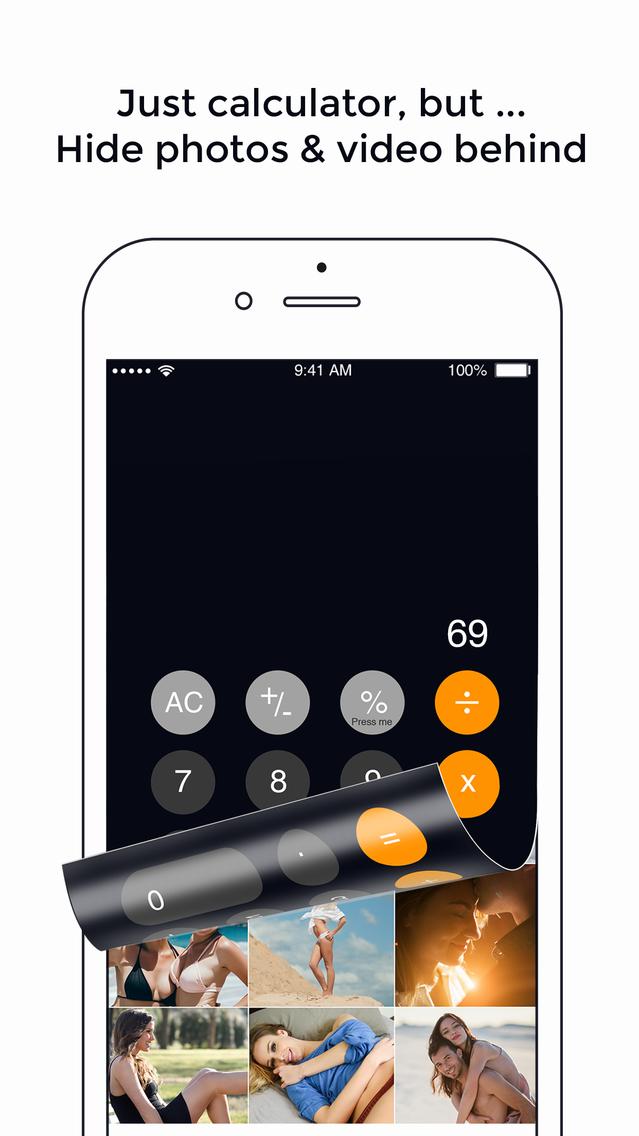 Fake Calculator-Vault Password App for iPhone - Free