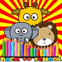 Zoo Animal Coloring BookPages For Kids