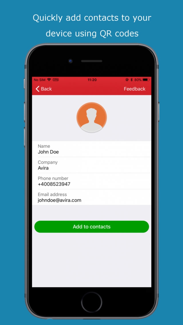 barcode scanner app iphone
