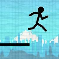 Accelerated Stickman Line Run Free
