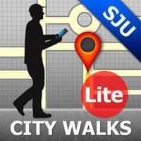San Juan Map and Walks