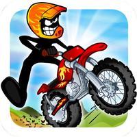 Stickman Bike Hill Race Free Addictive Rider Run