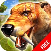 Sabertooth Tiger Survival Simulator : Wild Animals