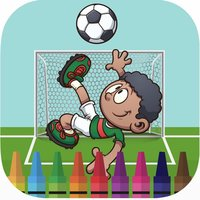 Dream soccer coloring book for kids games