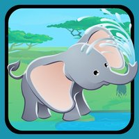 Animals of the Safari Sizing Game: Learn and Play for Children