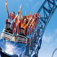 VR Theme Park Roller Coaster