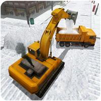 Snow Excavator Simulator 3D – Heavy truck operator game