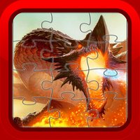 Dragon Jigsaw Puzzles Games for Kids and Toddlers