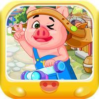 滑板大冒险 三只小猪早教