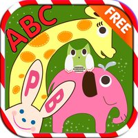 ABC Alphabet Animal Flashcards Write