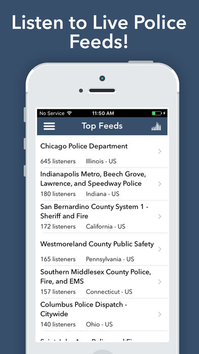 Police Scanner Radio - Pro App for iPhone - Free Download
