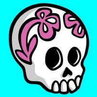 Sugar Skull Stickers Vol.1