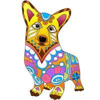 ColorMyDog - Adult Coloring Book