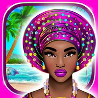 Tropical Princess with Fun Coloring Dress Up Games