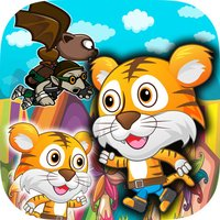 Tiny Tiger Run - Super World Animal Running Game