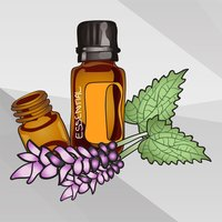Essential Oil & Aromatherapy Stickers