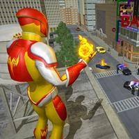Real City Superhero Fireman