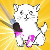 A Coloring Book for Little Children: Learn to draw and color cat and kittens