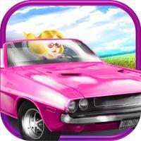 3D Fun Girly Car Racing