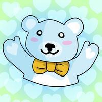 Sweet Teddy Bear Stickers