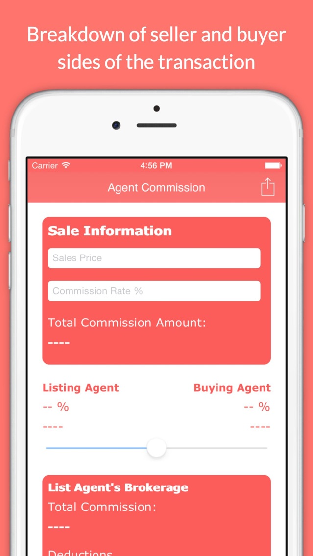 Real Estate Agent Commission Calculator App For Iphone Free Download Real Estate Agent Commission Calculator For Ipad Iphone At Apppure