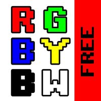 RGBYBW Free - Don't Tap The Wrong Colors