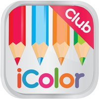 iColor Club: Coloring book and pages for Adults