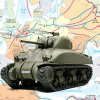 World War II - Tanks Match Three