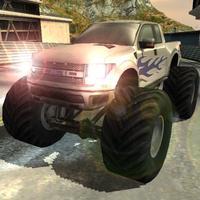 3D Monster Trucks Speed Racing Game