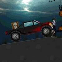 Halloween drive smash zombies